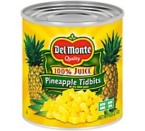 Del Monte Pineapple Tidbits in its Own Juice - 15.25 Oz