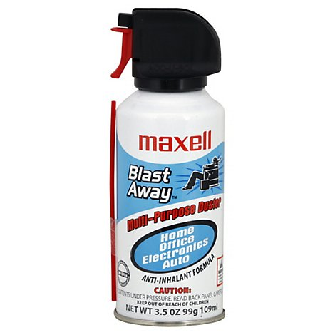 Maxell Canned Air Mini - 3.5 Oz