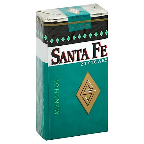Santa Fe Cigar Filter Menthol - 20 Package