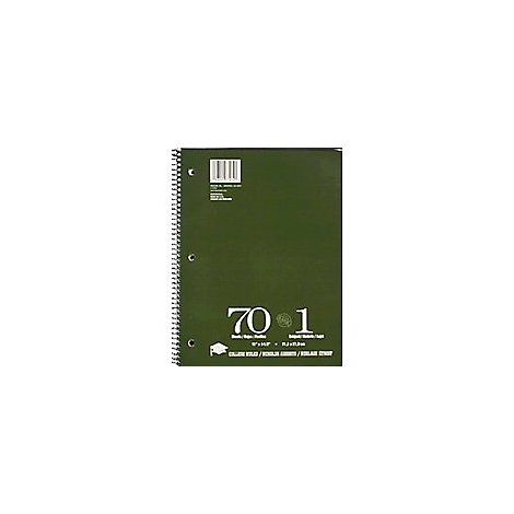 Norcom Theme 1 Subject Cr 11x8.5 - 70 Count