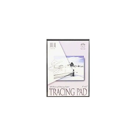 Norcom Tracing Pad 9x12 - 40 Count