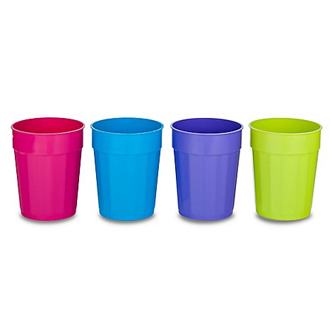 B&R Plastic Classique Cup Assorted Colors 22 Oz 1 Cup - Each