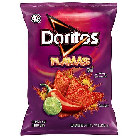 Doritos Tortilla Chips Flamas - 7.625 Oz