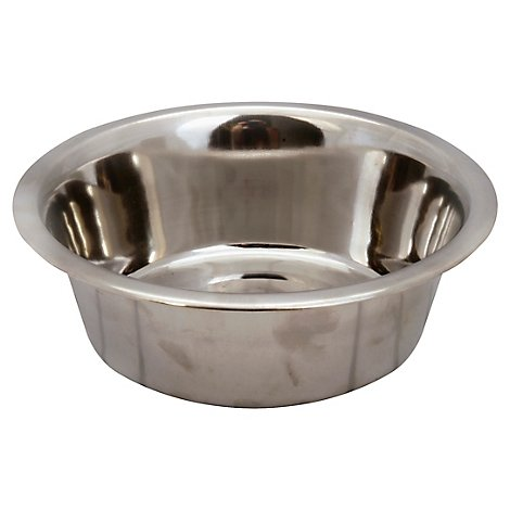 Petmate Pet Bowl Stainless Steel 7 Cup - Each