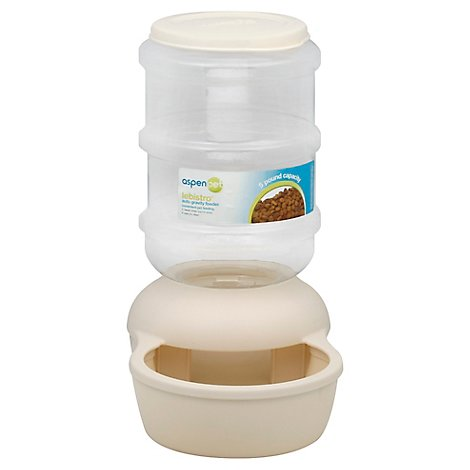 Aspen Pet Feeder Auto Gravity 5 Lb - Each