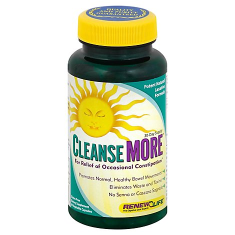 Clns More Body Cleanse - 60 Count