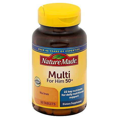 Nature Made Essential Man 50 Vitamins - 90 Count