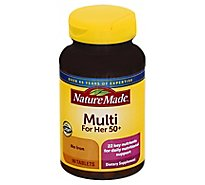 Nature Made Multivitamins Tablets Multi For Her 50+ - 90 Count