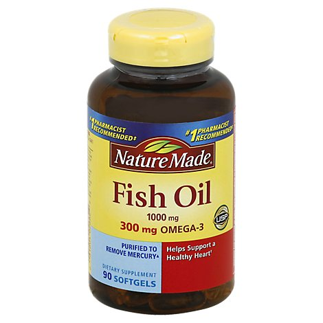 Nm Fish Oil 1000mg - 90 Count