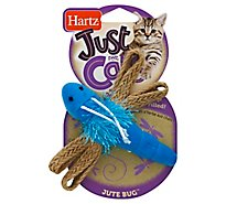 Hartz Just For Cats Cat Toy Catnip Filled Jute Bug - Each