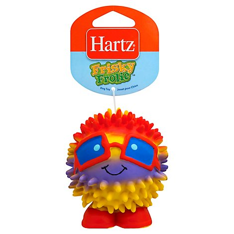 Hartz Mountain Frisky Frolic Dog Toy - Each