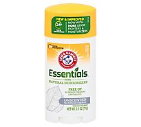 A&H Essentials Deod Natural Unscented - 2.5 Oz