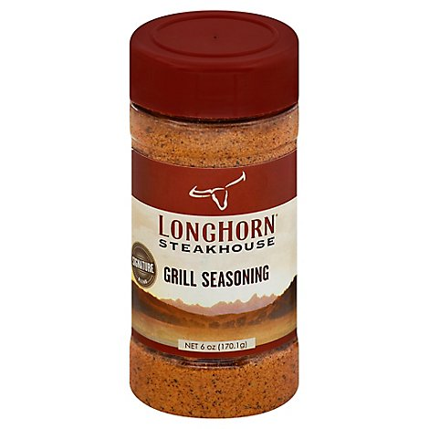 Longhorn Steakhouse Grill Seasoning Signature Blend - 6 Oz