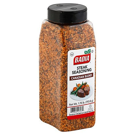 Badia Seasoning Steak Canadian Blend - 1.75 Lb