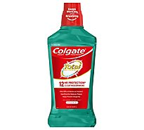 Colgate Total Mouthwash Antigingivitis Antiplaque Spearmint Surge - 33.8 Fl. Oz.