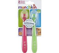 Munchkin Silicone Spoons - 2 Count