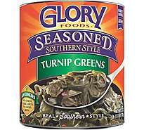 Glory Foods Greens Turnip Seasoned Southern Style - 27 Oz
