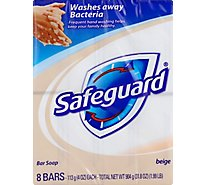 Safeguard Deodorant Bar Soap Beige - 8-4 Oz