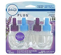 Febreze NOTICEables Scented Oil Refill Mediterranean Lavender 2 Count - 1.74 Fl. Oz.