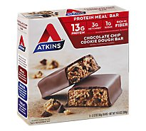 Atkins Bar Chocolate Chip Cookie - 5-2.1 Oz
