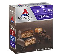 Atkins Endulge Mousse Chocolate Caramel - 5-1.2 Oz