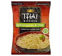 Thai Kitchen Gluten Free Instant Rice Noodle Soup Lemongrass & Chili - 1.6 Oz
