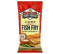 Louisiana Fish Fry Mix Cajun - 10 Oz