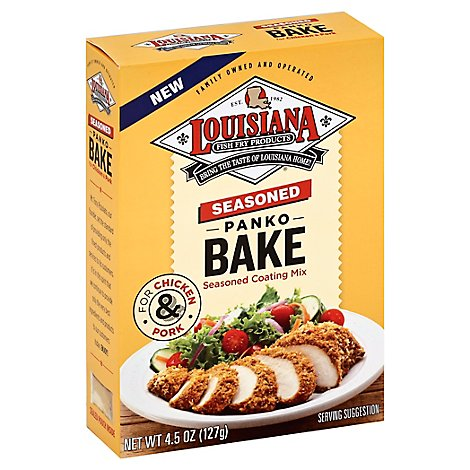 Louisiana Seasoned Panko Bake - 4.5 Oz