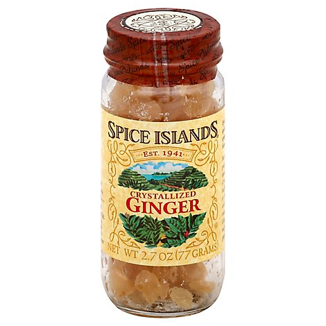 Spice Islands Ginger Crystallized - 2.7 Oz