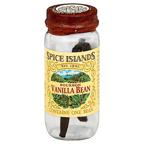 Spice Islands Bean Vanilla Bourbon - Each