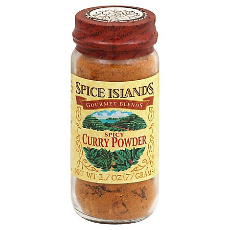Spice Islands Gourmet Blends Curry Powder Spicy - 2.7 Oz