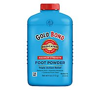 GOLD BOND Foot Powder Medicated - 4 Oz