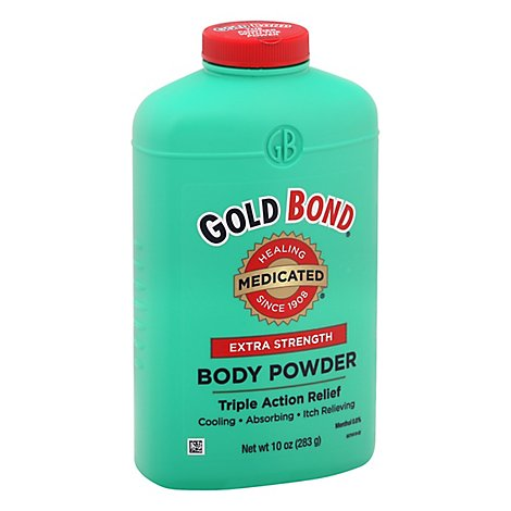 GOLD BOND Body Powder Medicated Extra Strength - 10 Oz