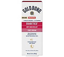 Gold Bond Diabetic Foot Cream Relief - 3.4 Oz