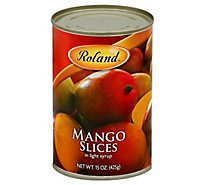 Roland Mango Slices in Light Syrup - 15 Oz