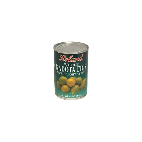 Roland Kadota Figs Whole in Light Syrup - 15 Oz