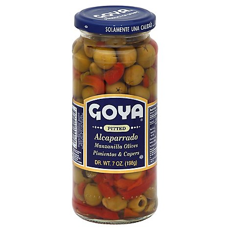Goya Alcaparrado Pitted Jar - 7 Oz