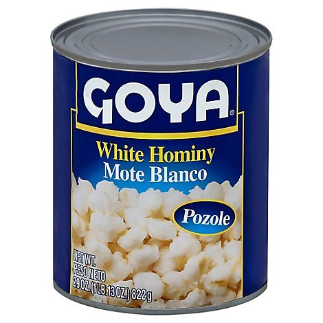 Goya Hominy White Can - 29 Oz