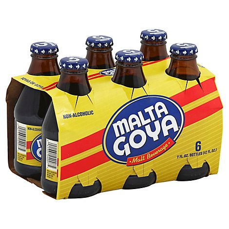 Malta Goya Malt Beverage Non-Alcoholic Bottle - 6-7 Fl. Oz.