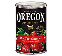 Oregon Specialty Fruit Cherries Red Tart Cherries Pitted In Water - 14.5 Oz
