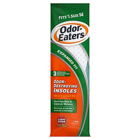 Odor Eaters Insoles Ultra Comfort - 2 Count