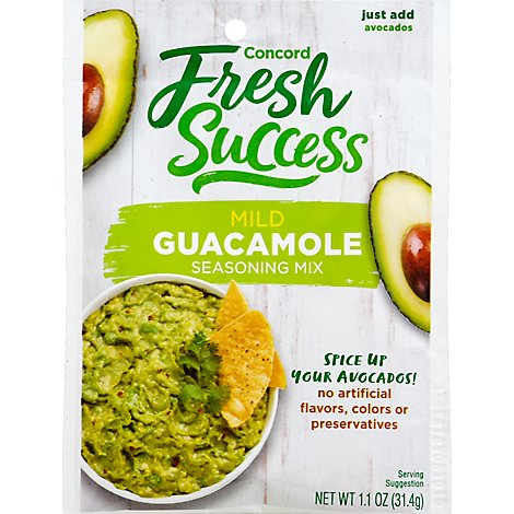 Concord Guacamole Mix - 1.1 Oz