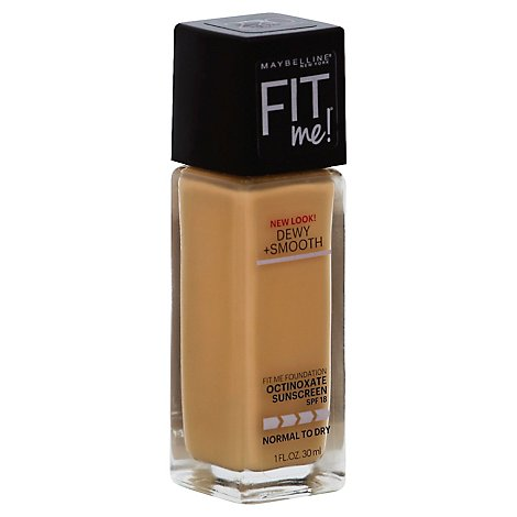 Maybelline Fit Me Foundation Natural Beige - 1 Oz