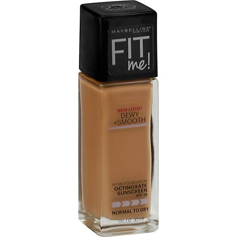 Maybelline Fit Me Foundation Pure Beige - 1 Oz