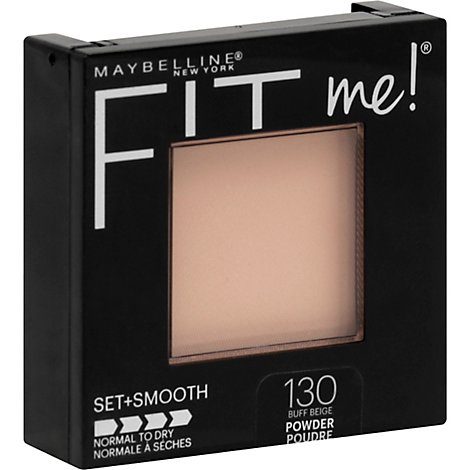 Maybelline Fit Me Pressed Pwdr Buff Beige - .30 Oz