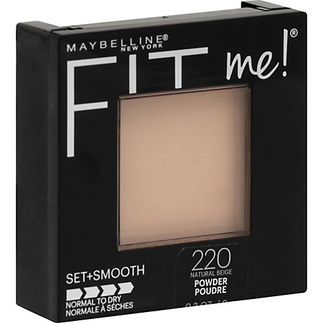 Maybelline Fit Me Pressed Pwdr Natural Beige - .30 Oz