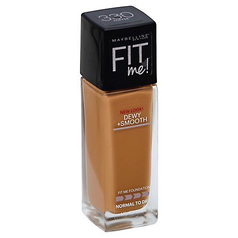 Maybelline Fit Me Foundation Toffee - 1 Fl. Oz.
