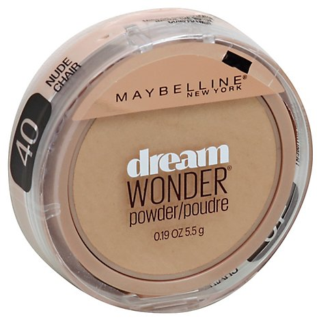 Maybelline Dream Wonder Pwdr Nude - .19 Oz