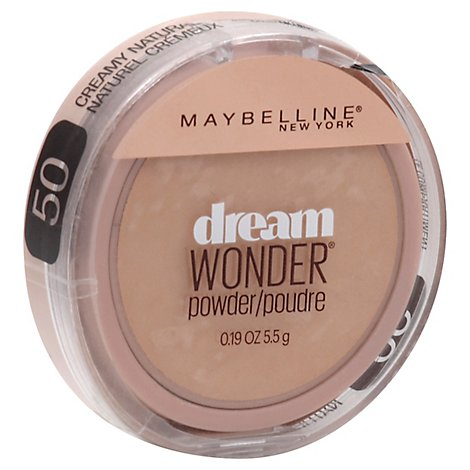 Maybelline Dream Wonder Pwdr Natural - .19 Oz