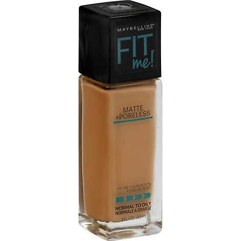 Maybelline Fit Me Matte Poreless Sun Beige - 1 Fl. Oz.